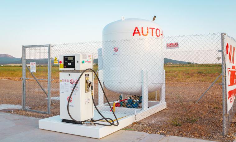 Deposito glp | glp | lpg | autogas | coches con gas | gasolinera | bp