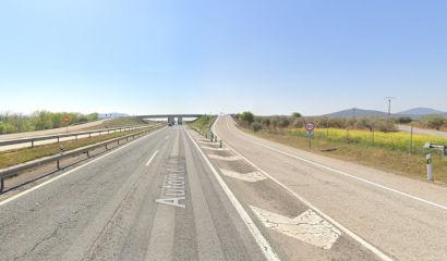 Mapa hacia Andalucia
